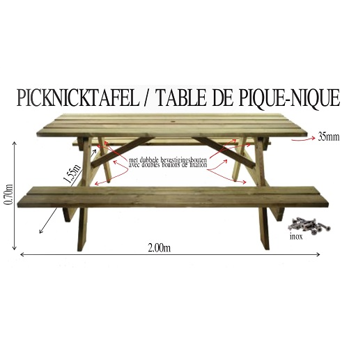 TABLE DE PIQUE-NIQUE