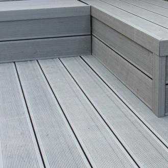 Hbgarden terrasses duofuse avec remise et livr domicile for Planche de terrasse composite