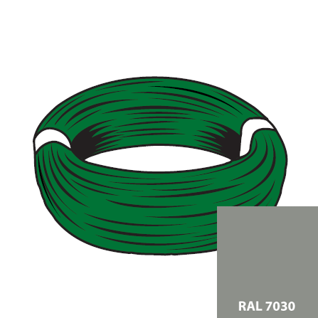 FIL DE TENSION RAL 7030 - D38